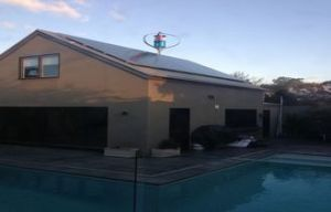 سقف تجهيز [600و] [مغلف] [ويند تثربين جنرتور] شاقوليّ