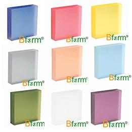 Panel-Zwischenlage-Panel-lamellierte dekorative Kristallfarben-Platte des Harz-3form