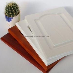 La membrana de PVC puertas del armario de cocina de MDF