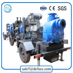 Impulsado por motor Diesel de autocebado/Aguas Residuales de la bomba de lodo