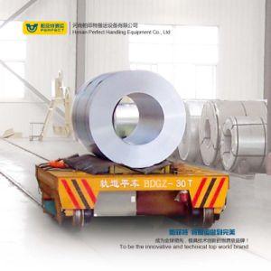 Carrello motorizzato del rimorchio della bobina per fabbricazione dell'acciaieria