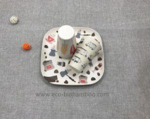 Sans BPA Eco Fibre de bambou vaisselle Set (YK-S4046)