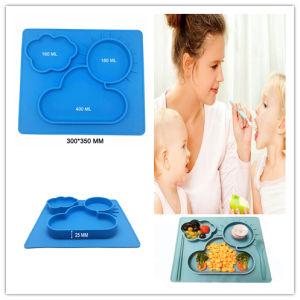 Alta qualidade de Silicone sem BPA Placemat de Bebé com sucção forte