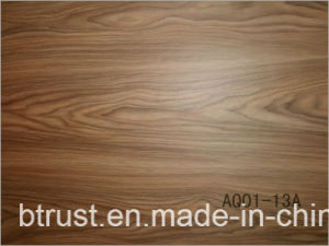 De houten Folie/de Film van pvc van de Korrel Vinyl Decoratieve voor de VacuümPers van het Membraan