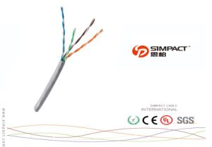 Cable aprobado de la red del cable de LAN del CPR UTP/FTP Cat5e