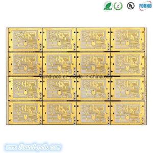 10 strati di alta frequenza di Eing hanno timbrato stampato collegando la scheda elettricamente del PWB