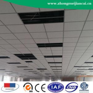 Placa de teto de gesso laminado de PVC com revestimento de alumínio251