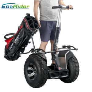 70kmの長距離2車輪の電気ゴルフカートのゴルフスクーター