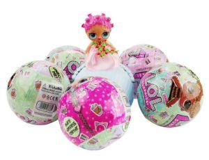 Sfera divertente della bambola di sorpresa di schiocco dei coriandoli di sorpresa dei giocattoli L.O.L. della novità grande per la bambola del regalo del giocattolo dei bambini dei capretti