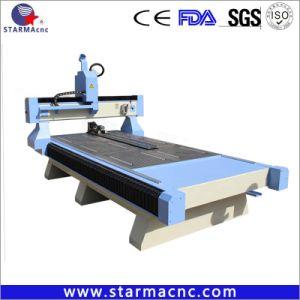 Equipamento de China 1325 3KW 4 Axis 3D Preço Router CNC de madeira com marcação CE