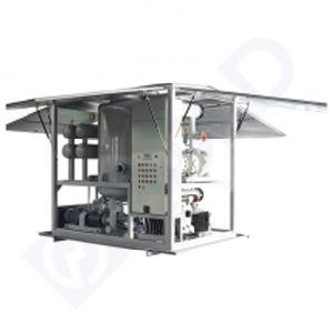El aceite purificador del separador de agua de purificación de aceites usados de la máquina La máquina de reciclaje de aceite
