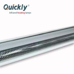 O tubo de quartzo de infravermelho Alimentação da Lâmpada de aquecimento