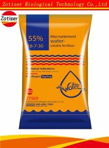 Meststof van het Macro-element van de Productie van China de Lichtgele In water oplosbare voor Groenten