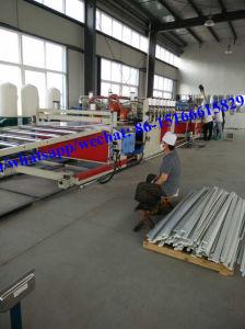 Carte WPC PVC mousse Making Machine/PVC Feuille de mousse de la machine de l'extrudeuse
