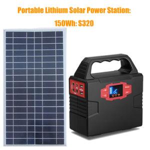 Generatore solare portatile del sistema di energia solare della pastella del litio con il comitato solare