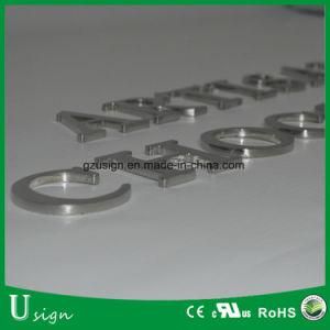 Laser-Schnitt-Polnisch-feste Metallkanal-Stahlzeichen