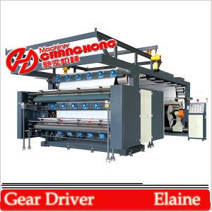 4 Plástico Color de Cine de impresión flexográfica Máquina (CR884)