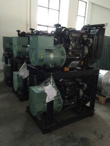 33kVA 26kw 비상 전원 영국 엔진 디젤 엔진 발전기 세트