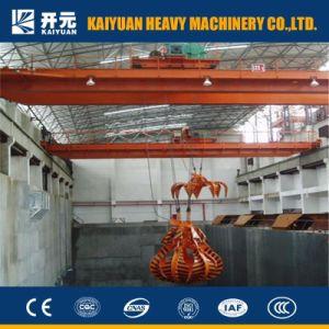 広い使用法を用いる電気移動式グラブの天井クレーン
