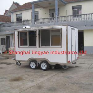 販売の食糧のための移動式セリウムの食糧カートビジネス上海の食糧トラックのオートバイ