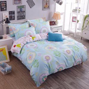 3部分は安いMicrofiberの寝具セットを印刷した