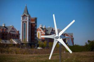 5 лопасти горизонтального ветра турбины с сертификат CE мельницы