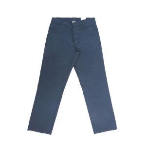 De regelmatige Sterke Jeans van het Denim van de Arbeider Blauwe Hemel Gescheurde
