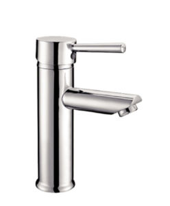 単一のレバーの浴室の真鍮の洗面器のコックのクロム終わり(YQ-H2S)