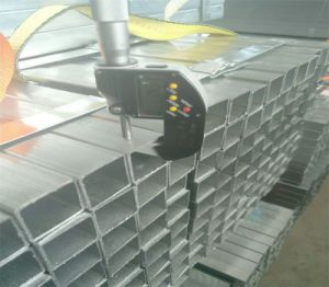 Mej. Hollow Section Square Steel Pijp/Poort van de Buis van het Ijzer de Vierkante