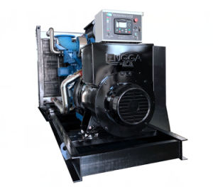 工場供給によって動力を与えられる10kVA無声発電機