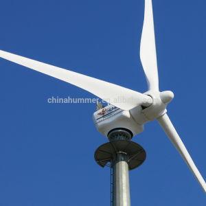 Horizontales System des Mittellinien-Wind-Turbine-Generator-100kw
