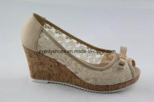High Heels Peeptoe Chaussures femmes sandale avec un design élégant