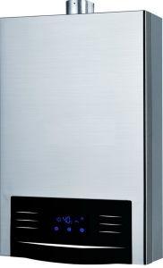 Equilibrio calentador de agua de gas de escape con cubierta S/S--Hw-Qg Jsg89 (8-12 L)