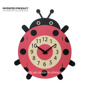 Enfants Enfants Chambre cadeau décoratif Horloge murale mignon dessin animé