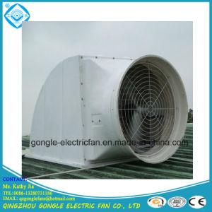 El material FRP forma de cono Ventilador de techo Industrial