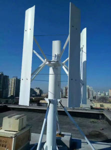turbina di vento verticale Permagnet del magnete ad alta velocità di 1500W
