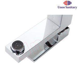 Distributeur sanitaire Unoo Ware laiton chrome robinet du bassin de la Salle de Bain lavabo Appuyez sur (F4501/F4501H)