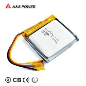603030 Bateria de polímero de lítio ionizado de 3,7 com 520mAh em computador portátil, câmara portátil, computador portátil