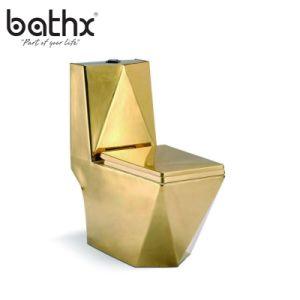 Un design moderne de la Porcelaine lavage une pièce de rinçage de la porcelaine sanitaire toilettes (PL-3814)