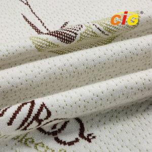 e378410db Super Macio tecido Jacquard para colchão em malha de fibra de bambu
