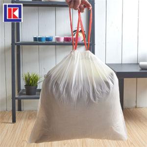 Биоразлагаемые13 галлон кулиской мешки для мусора