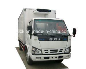 3 Ton van refrigerada Isuzu Truck Freezer Camião Van Truck Reefer Van Veículo caixa do resfriador Veículo Frigorífico Máquina Veículo refrigerado com unidade refrigerada da operadora