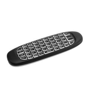 Voar Air Mouse T10 C120 Teclado para jogos Android Market controlo remoto sem fios 2.4GHz Teclado de jogos para a caixa smart TV Mini PC vender a quente