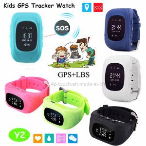 Les enfants GPS tracker montre avec fonction SOS pour les enfants (Y2)