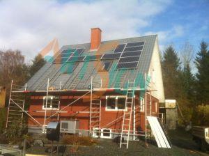 Panneau solaire, énergie solaire de fixation de pavillon toit de tuile de supports de montage