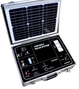 caja de cartón solar para el ejército