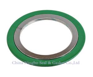 De groene Pakking van de Wond 316ss van de Kleur BuitenRing Met een laag bedekte Spiraalvormige