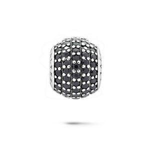 Juwelen van de Parels van de Juwelen van het Kristal van de kleur de Zilveren voor Europese Armband