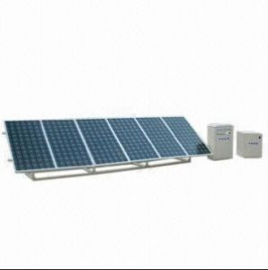 Système d'alimentation solaire avec 110/220 V Tension de sortie et 1000W Puissance de crête, convenable pour la maison