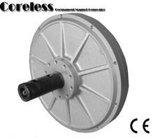 600W Generator van de Magneet van Coreless de Permanente